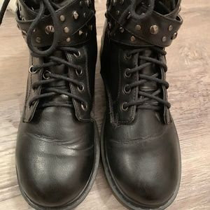 ASOS Shoes - ASOS Studded Leather Ankle Boots - FREE SHIPPING